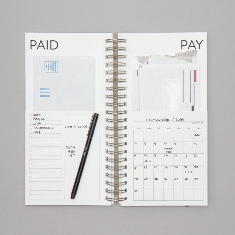 Diy bills calendar in 2020 with images bill calendar