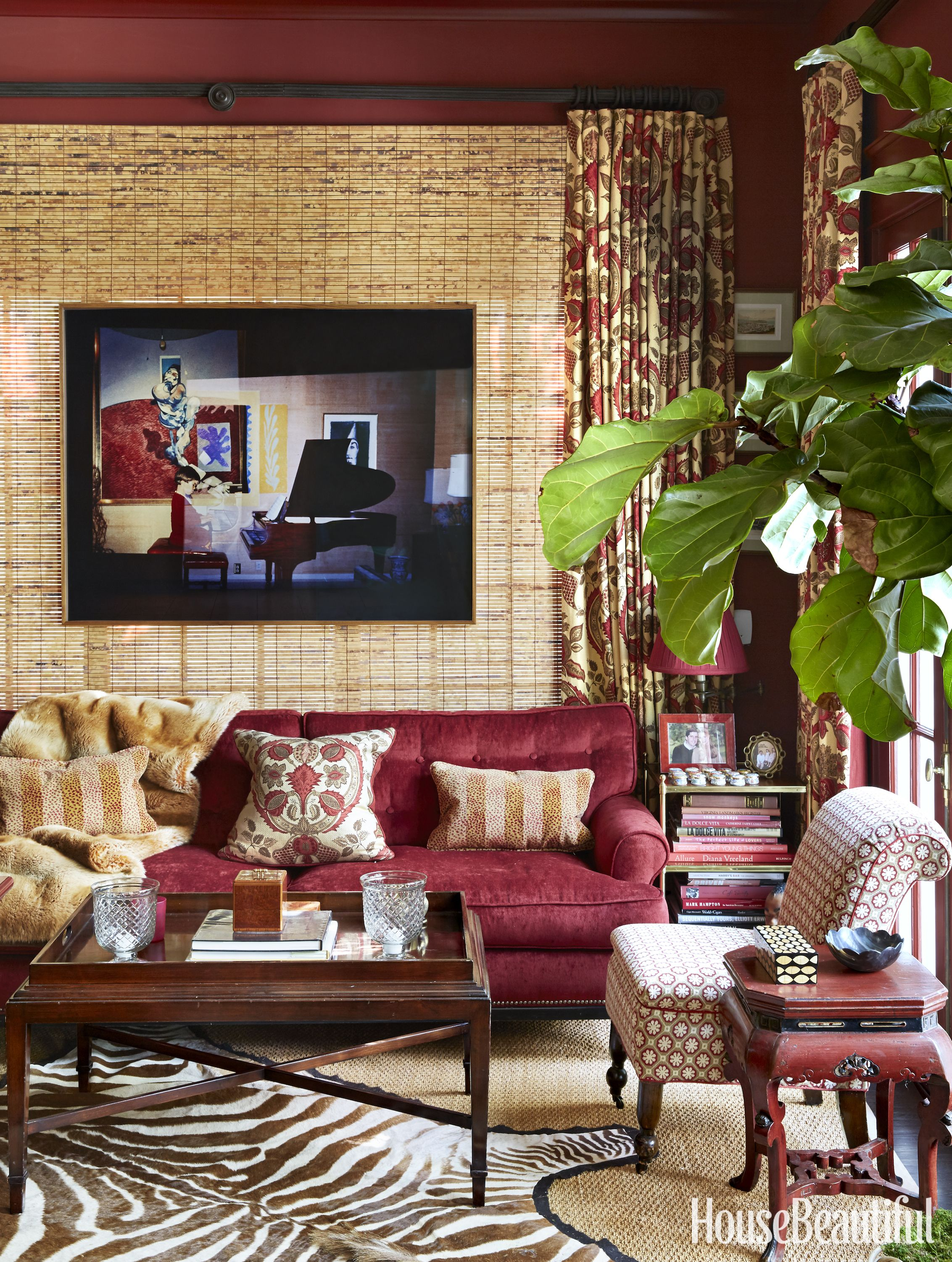 Living Room Like A Library: Inside A Georgian Revival That Defies Trends