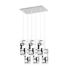 http://miglioraffare.eu - Lampadario a sospensione 6 luci da cucina design moderno