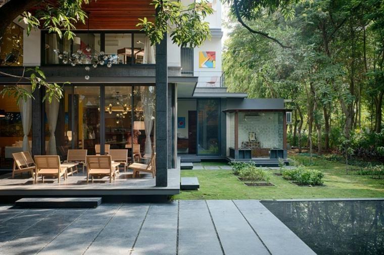 Delightful #Interior Design Haus 2018 Design Häuser   Ein Modernes Haus In Bhopal,  Indien #