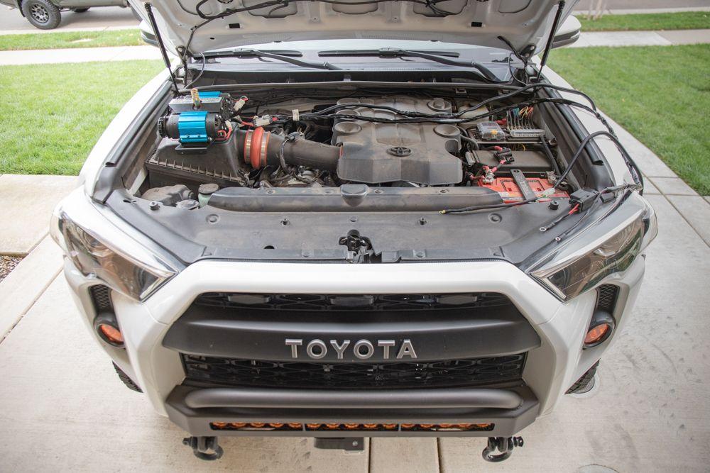 Arb Twin Compressor Install Wiring On 5th Gen Toyota 4runner In 2020 4runner Toyota 4runner Compressor