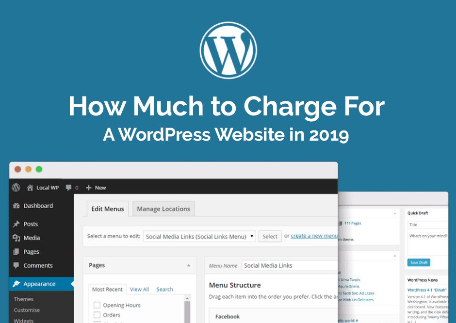 Do You Know How Much You Should Charge For A Wordpress Website In 2019 Click On The Link And Get The Full Info Wordpress Website Wordpress Website Development