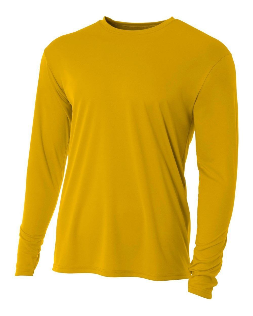 A4 Men S Cooling Performance Crew Long Sleeve Tee Long Sleeve