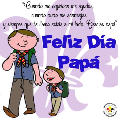 Scout Día Del Padre Artes Dia Del Padre Padre Educacion