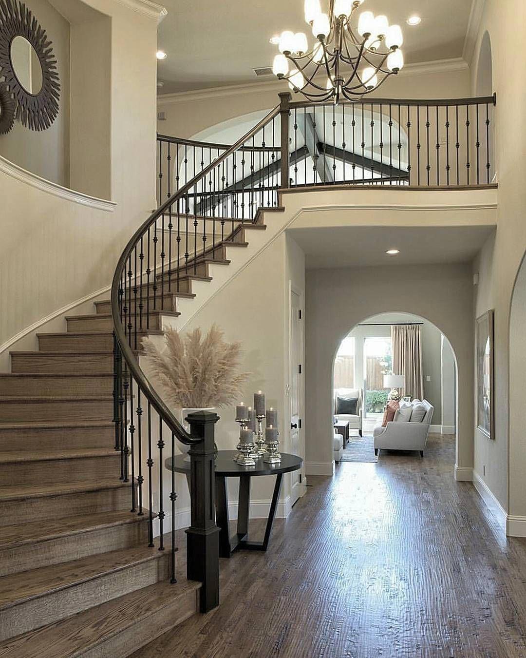 Beautiful Foyerdecorating in 2020   Stairs design ...
