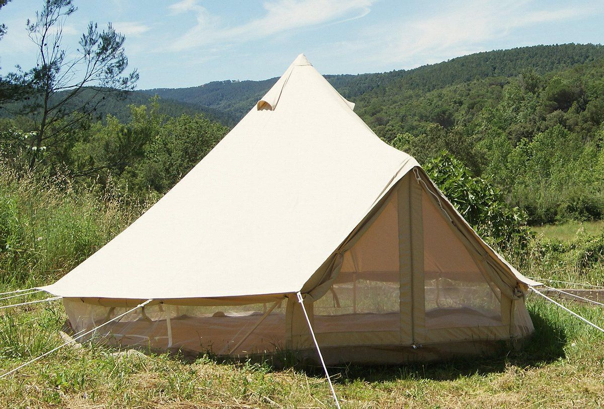 16ft Canvas Bell Tent   Classic