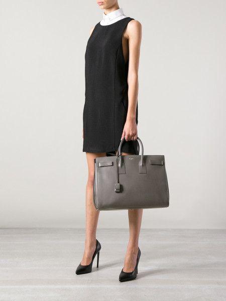 Sac For Size Laurent Saint De JourLarge WorkHandbags FJ1Tl5u3Kc