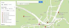 Mapa Goreme Capadocia