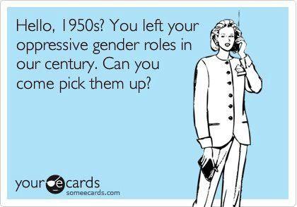 Gender stereotypes in society