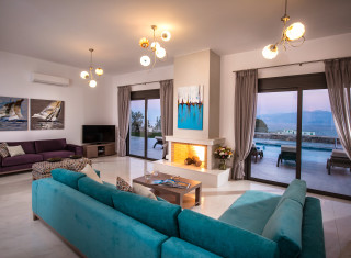 Kreta Villa Villa Bellelen Agios Nikolaos Elounda Crete 5 Bedrooms Casalio Villas Luxurious Bedrooms Luxury Homes Luxury House
