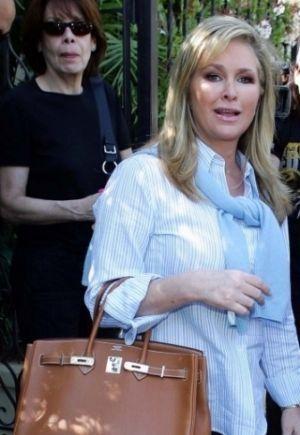 Celebrities Birkin Bags Kathy Hilton Frockage Hermes Birkin Bag Hermes Bag Birkin Hermes Hermes Birkin