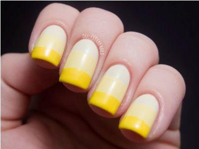 wwwfashionlacewigsale vibrant yellow nails  uñas