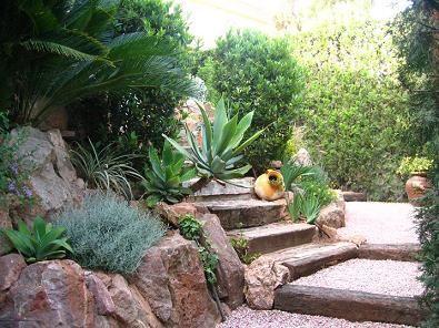 muro de piedra natural para jardín - Buscar con Google