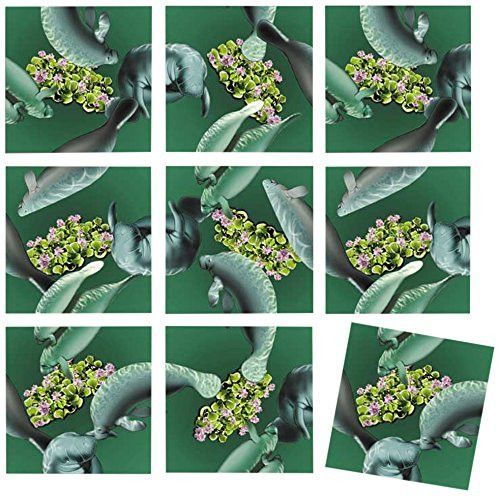 b dazzle manatees scramble squares 9 piece puzzle products