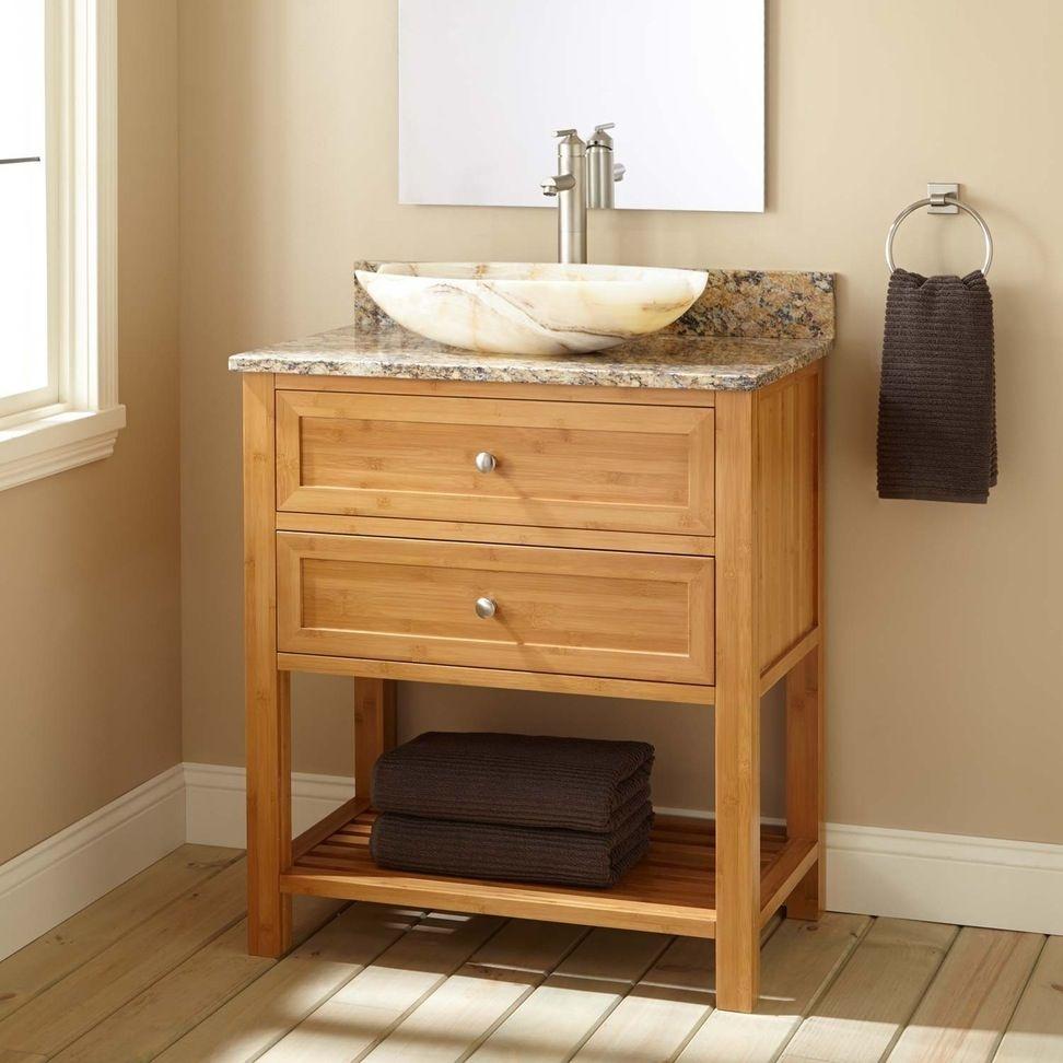 Knotty Pine Bathroom Vanity Cabinets Vessel Sink Vanity Vanity