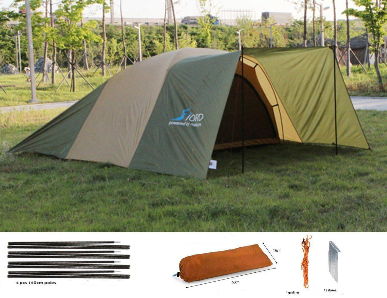 Luxetempo All Purpose Extra Large C&ing Rain Tarp Tent Hammock Rain Fly Sun Shelter-12 & Luxetempo All Purpose Extra Large Camping Rain Tarp Tent Hammock ...