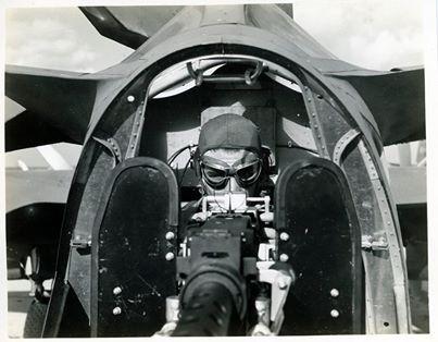 B-26A Tail Gunner