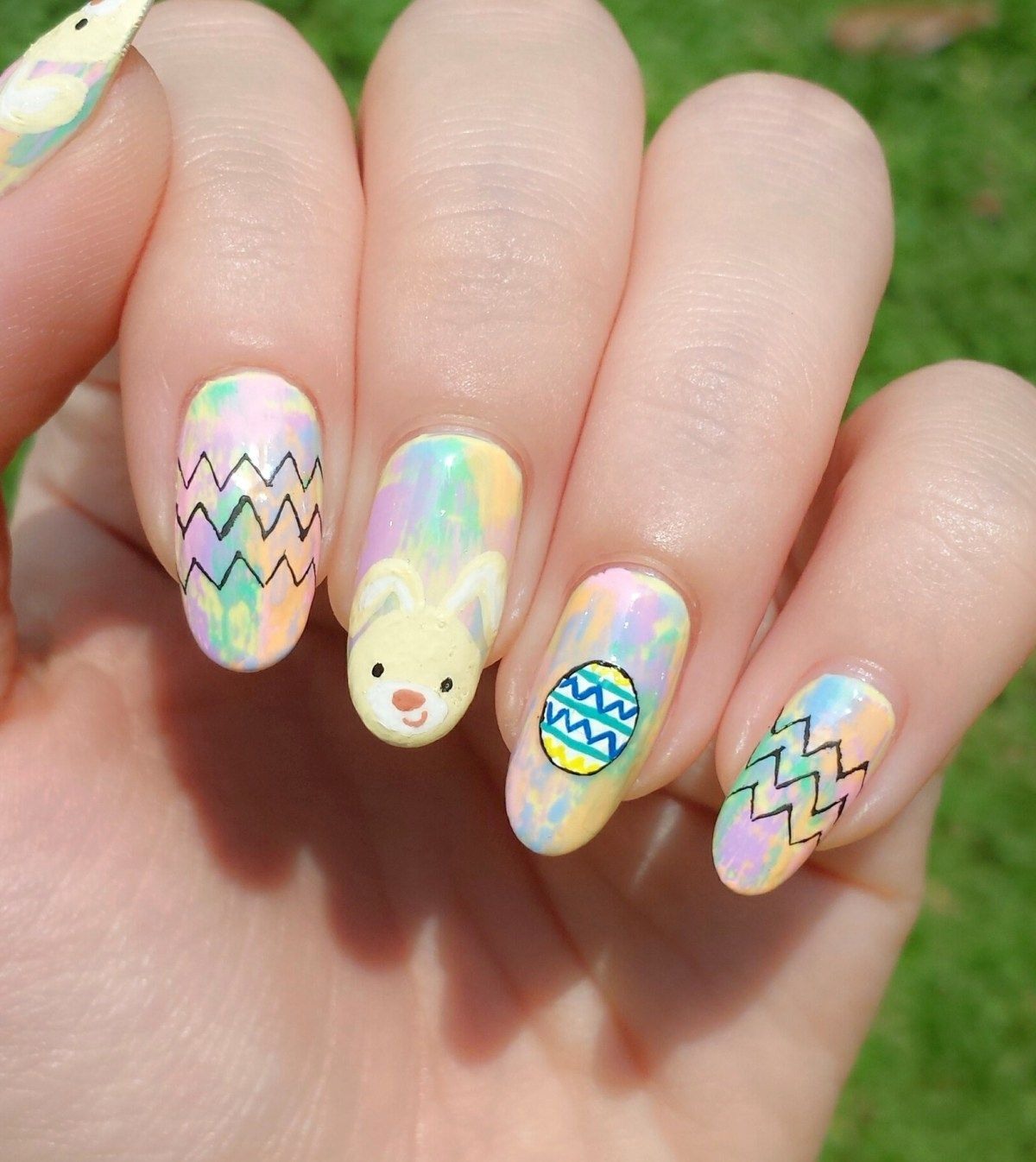 Pin by Kieu Nguyen on ::: easter ::: | Pinterest | Easter nails