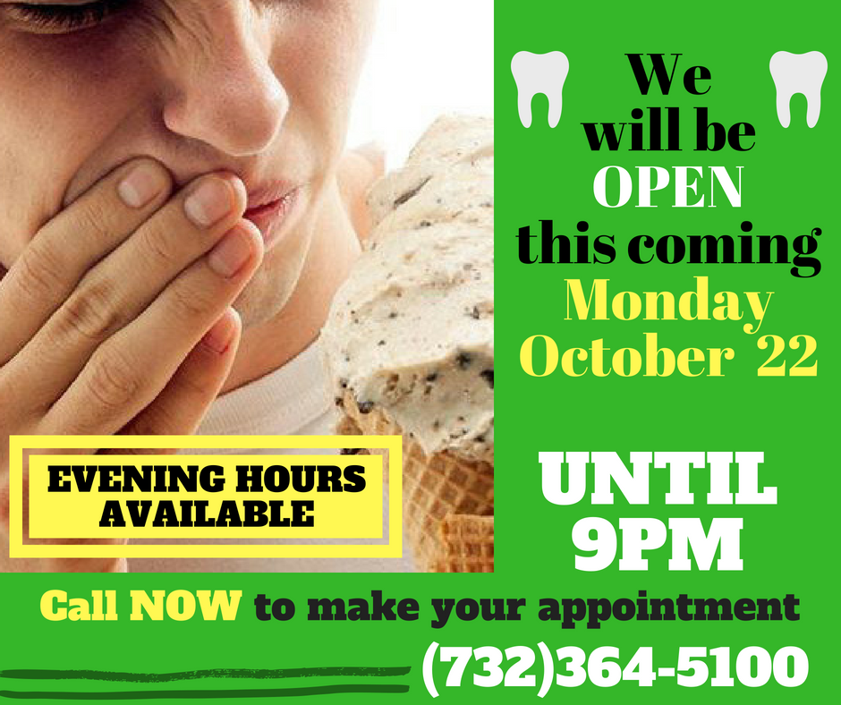 Late Afternoon Evening Hours Available For Monday October 22