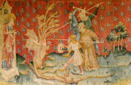 History of Art: Gothic Art-Tapestry, Nicolas Bataille