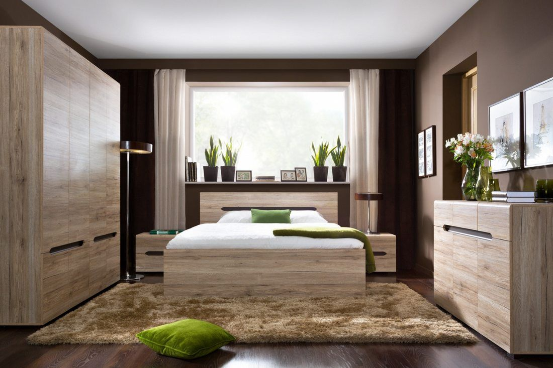 Bambusz padló, természetes elemek, lágy színek - a hálószoba divat ...