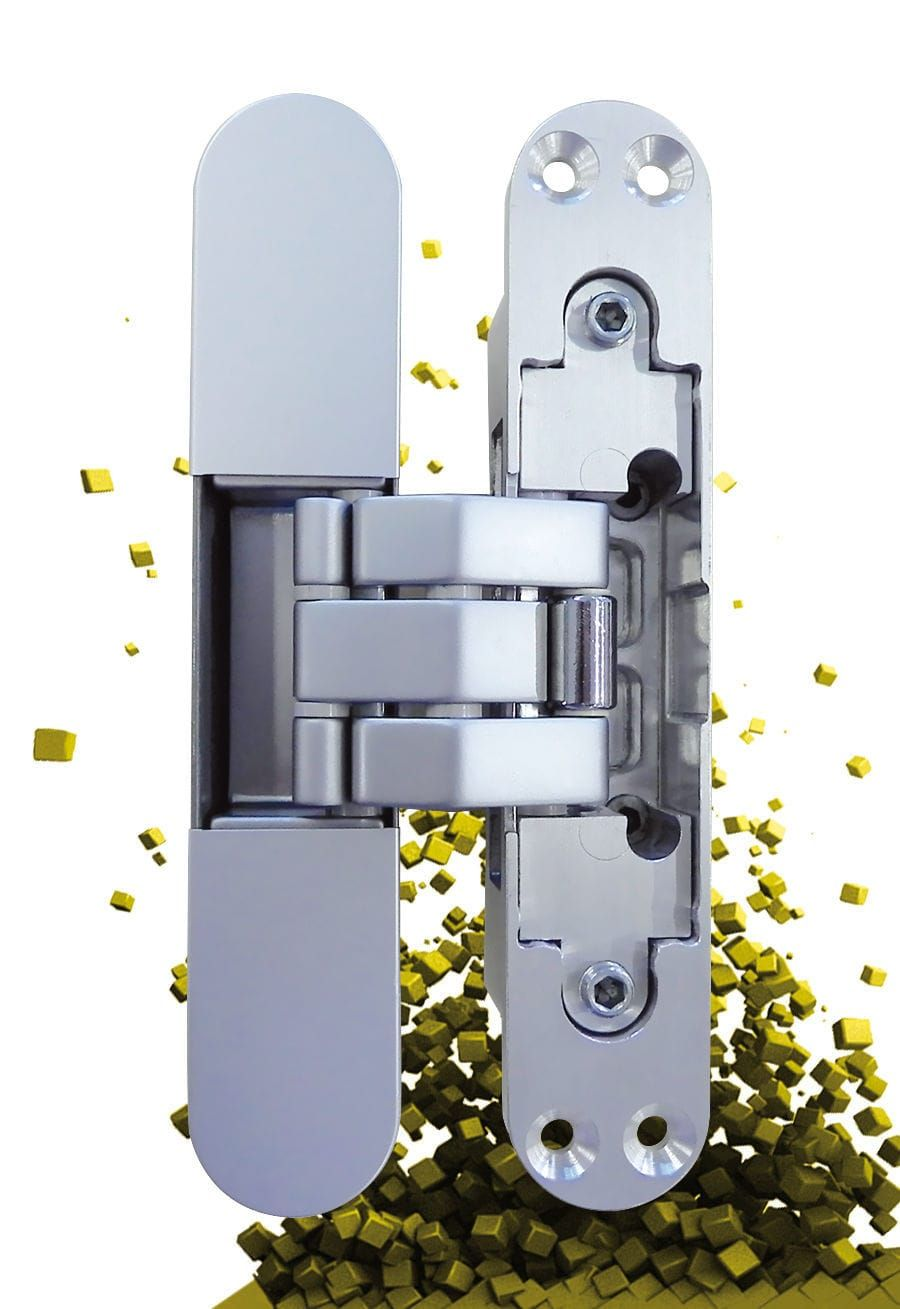 Door Hinge Zamak With Self Closing System Concealed Kubica  # Muebles Cofre Spa