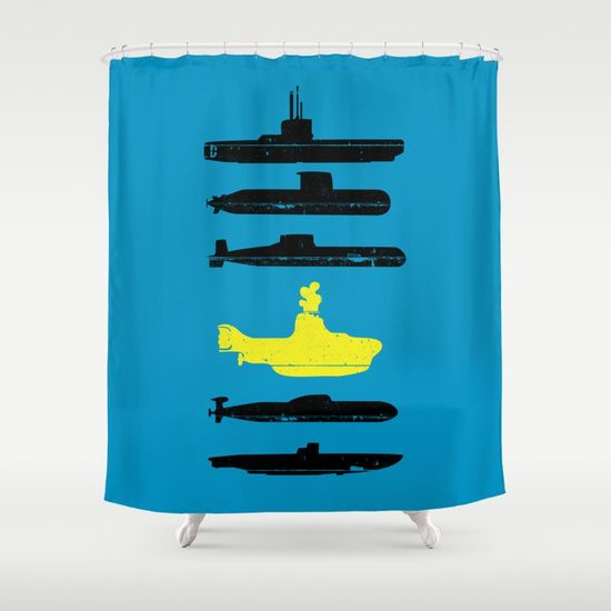 Know Your Submarines V2 Shower Curtain Art Design Examples Of Art Art