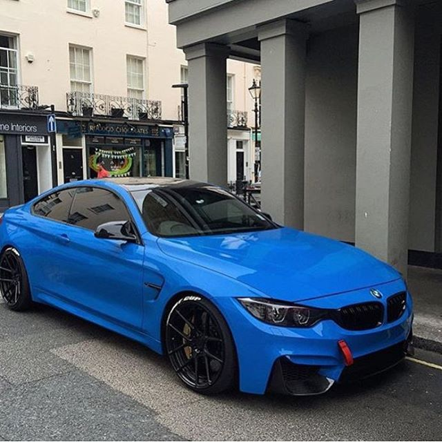 Intense Blue M4 Follow Beverlyhillscarclub For Amazing Clic Cars Every Day Pic By Famziiofficial Bmw