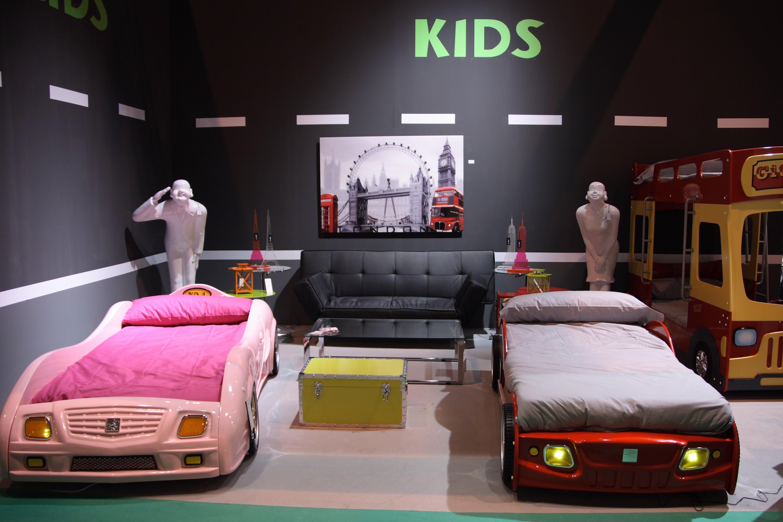 Camas coche con sonido y luces para chicos y chicas ni os - Cama coche para ninos ...