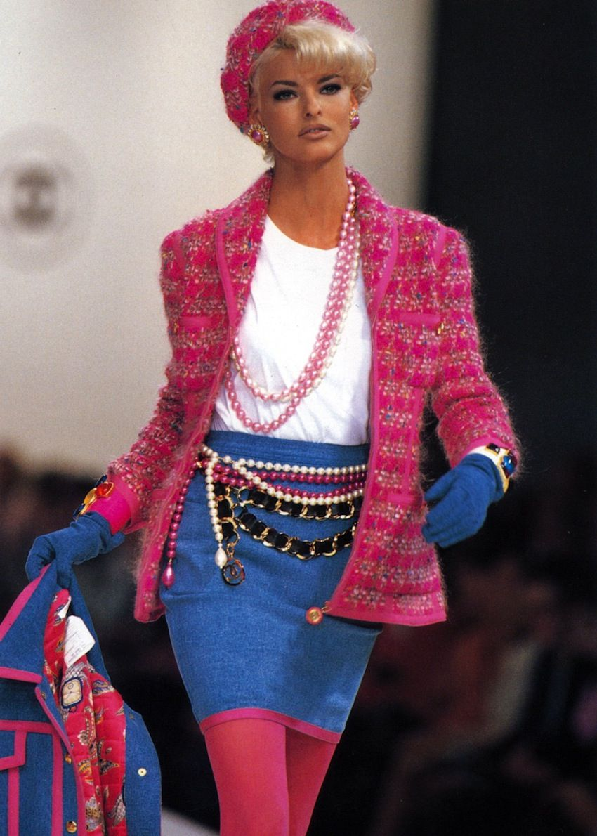 Image result for 1991 chanel fashion show T-shirt