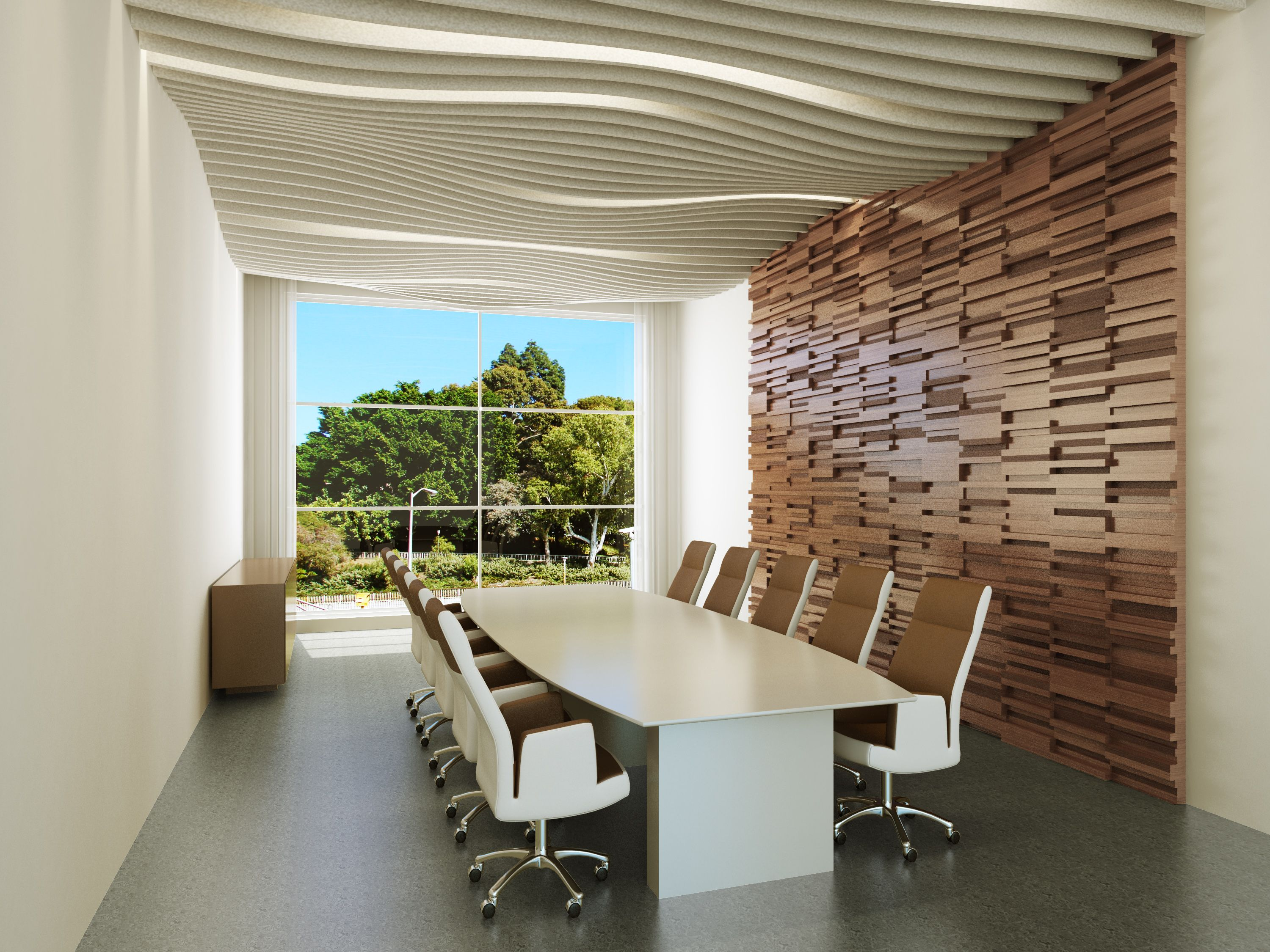 Conference Room Interior 3d Interior Modern Photorealistic