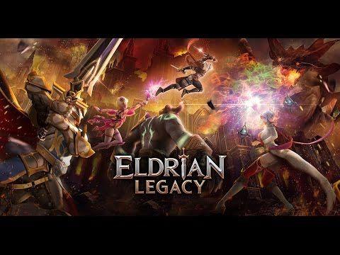 ELDRIAN LEGACY Android / iOS Gameplay Trailer