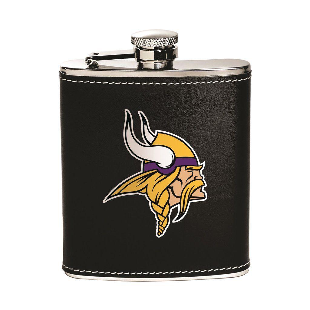 Minnesota Vikings Flask - Stainless Steel