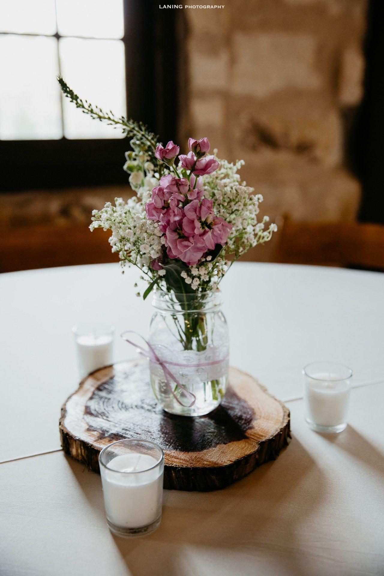 lavender DIY wedding centerpiece spring wedding DIY
