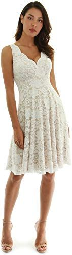Photo of Enjoy exclusive for PattyBoutik Women Floral Lace Overlay Fit Fl