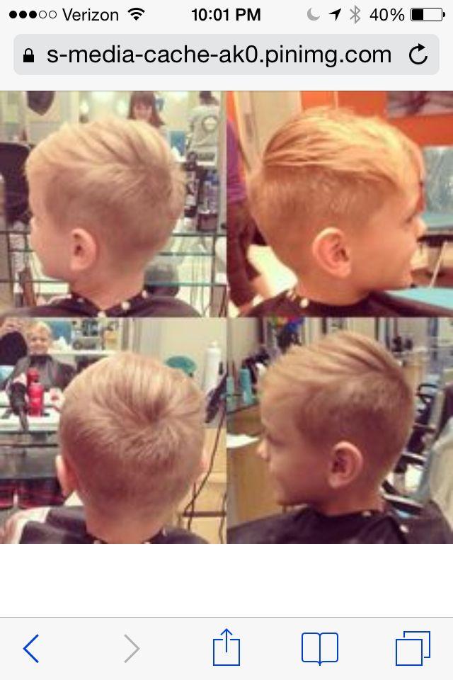 Undercut Kids Kleinkind Junge Haarschnitt Frisur Kleinkind