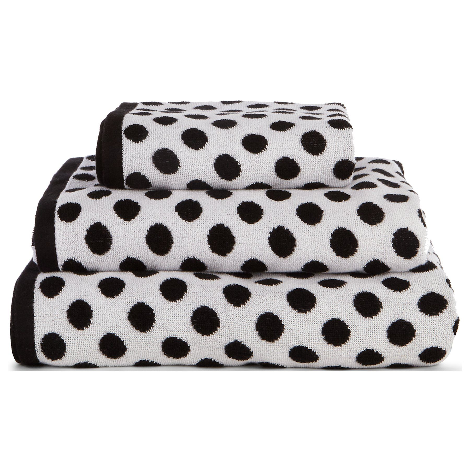 Polka Dot Cotton Towel Range | Towels & Bath Mats | George