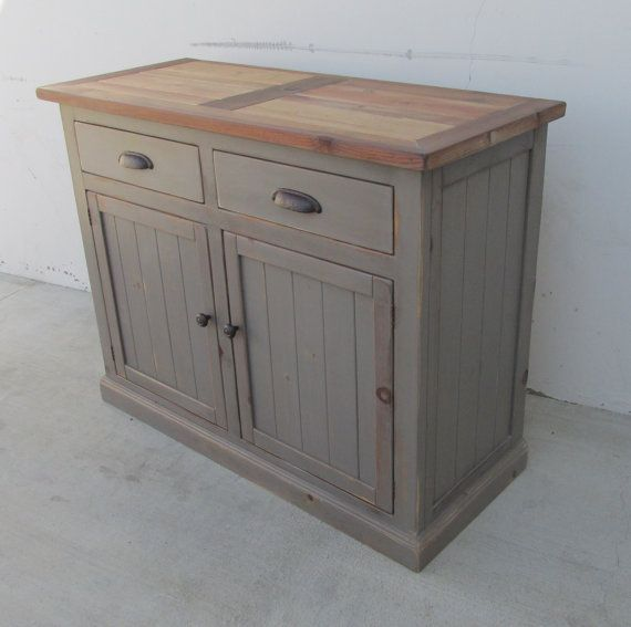 Sideboard, Server, Console Reclaimed Wood, Buffet
