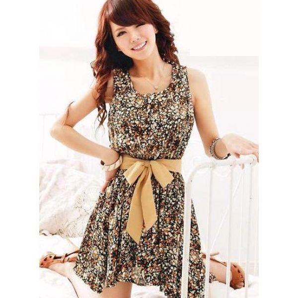 Cute Summer Dresses With Belts Pro Dress Image-cute summer ...