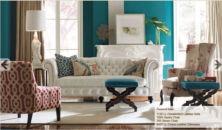 inspiring red turquoise living room | Red and Aqua Living Room | turquoise and red living room ...