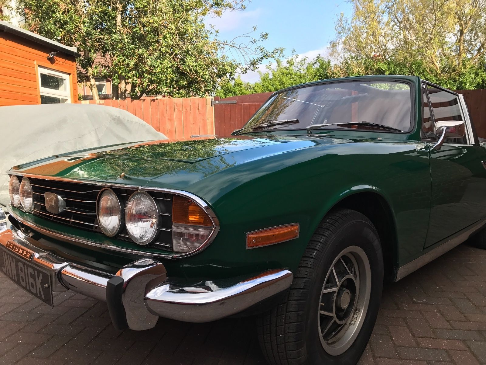 Ebay Triumph Stag Lovely Refurbed Classic Ready To Show