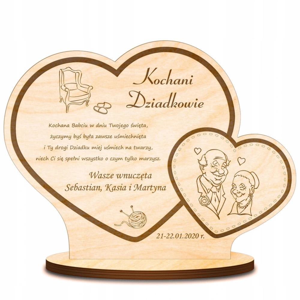 Statuetka Grawer Prezent Dzien Babci I Dziadka 7111558688 Oficjalne Archiwum Allegro Cards For Friends Personalized Card Personalized Candles