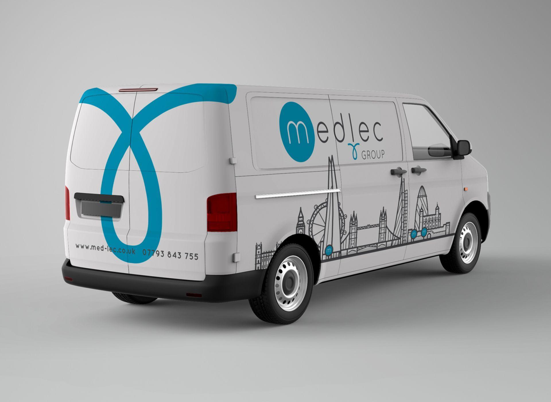 Van Signage For The New Medlec Branding Van Signage Branding