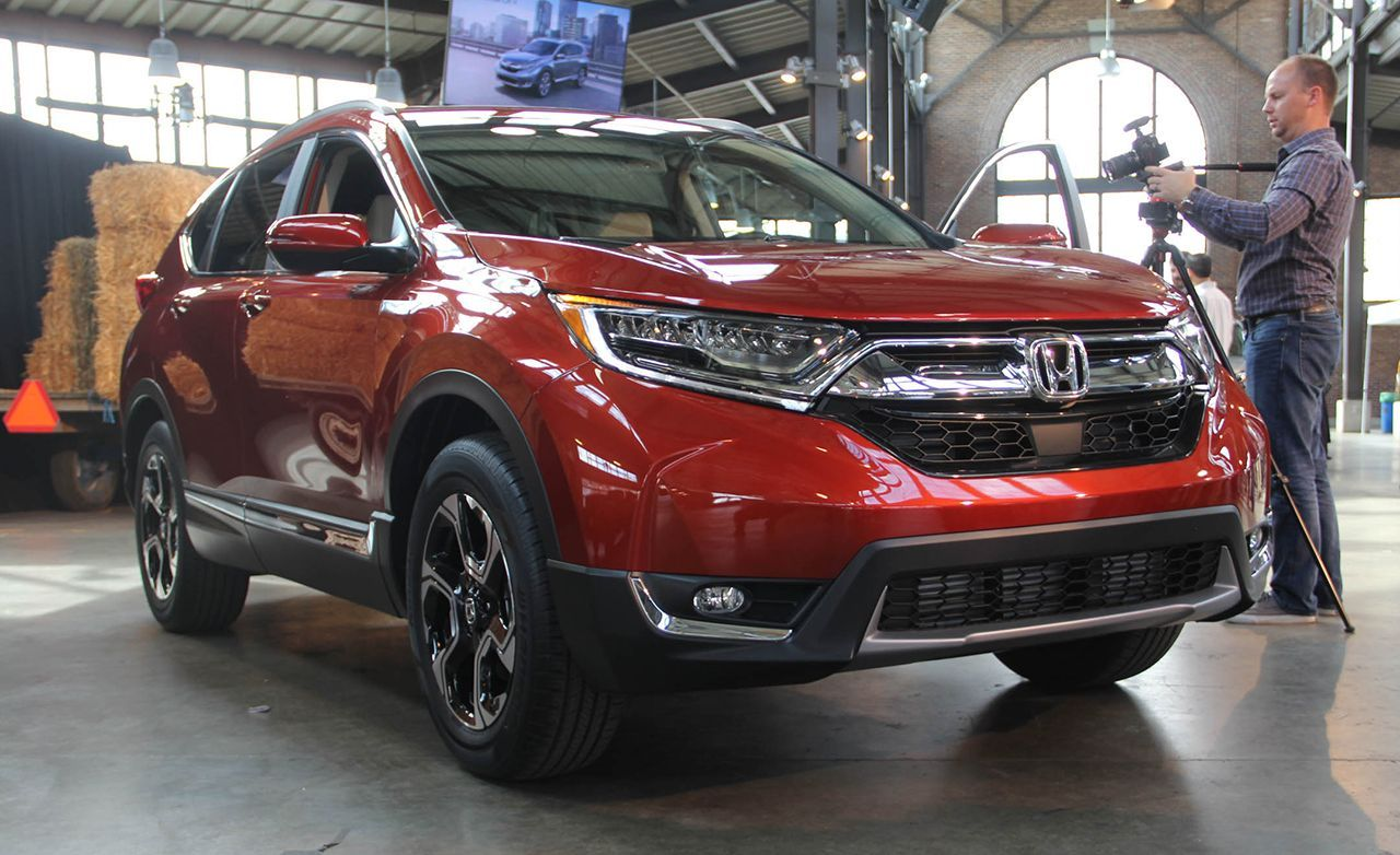 2017 honda cr v now with turbo power
