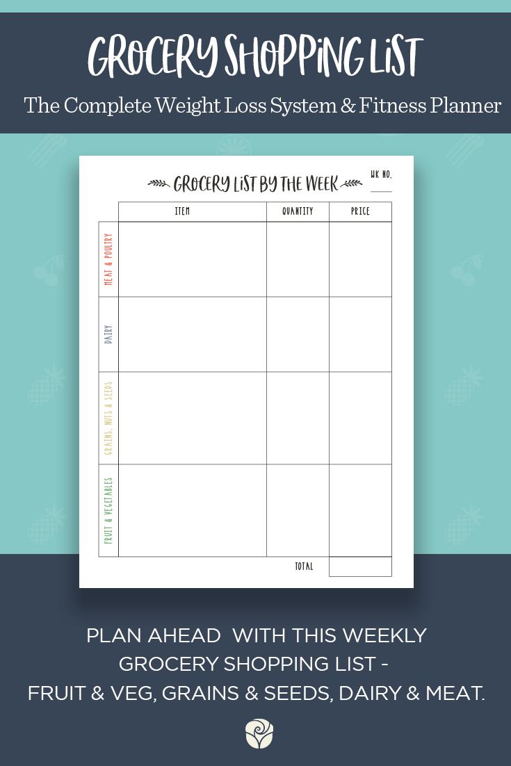 fitness journal fitness planner health planner fitness tracker