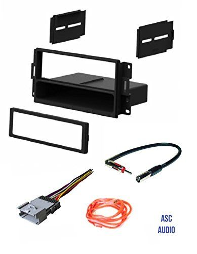Asc Audio Car Stereo Radio Dash Install Kit Wire Harness And Antenna Adapter To Install A Single Din Radio For 200 Car Stereo Installation Pontiac Grand Prix