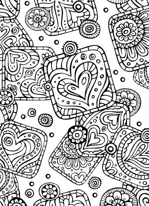 Best Valentines Day Coloring Books For Adults