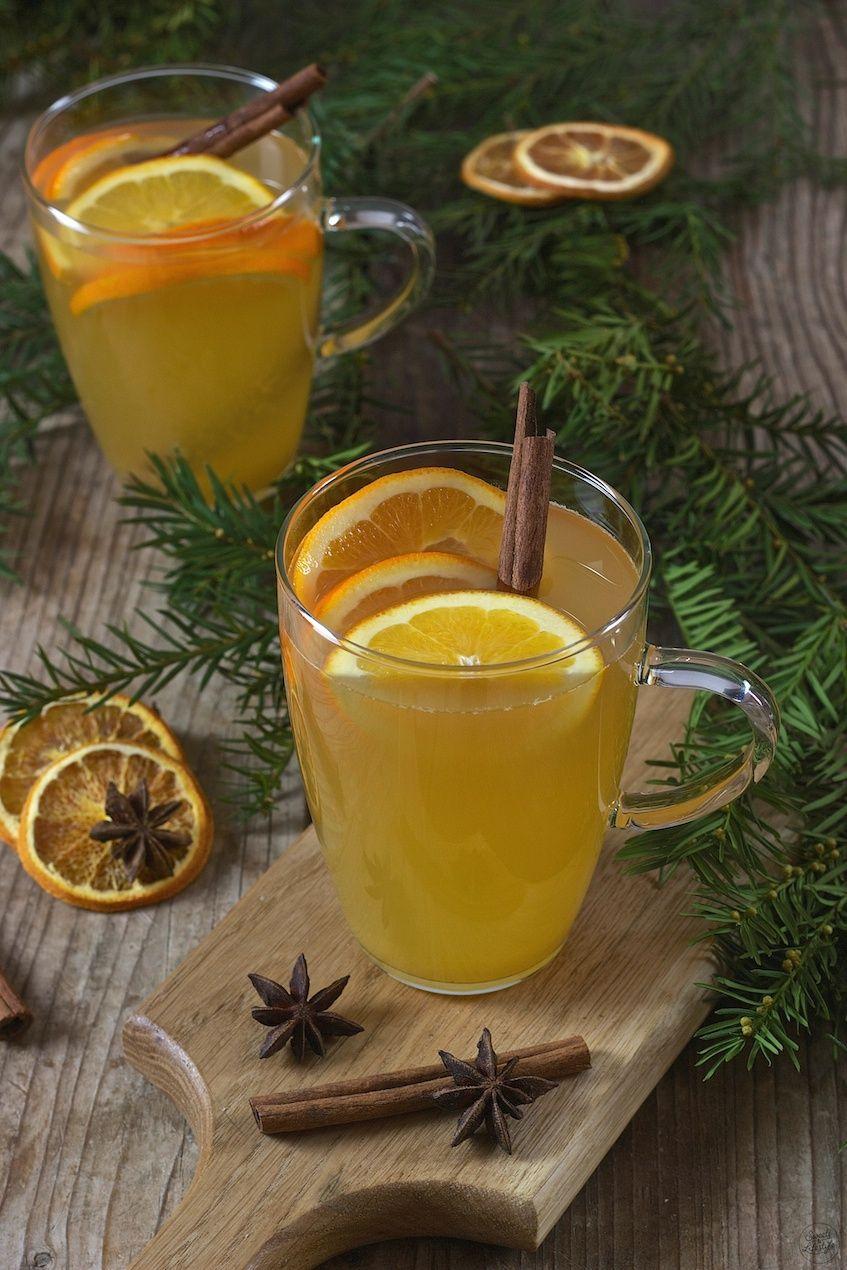 Photo of Glüh Gin mit Apfel und Orangen – Rezept – Sweets & Lifestyle®