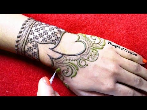 Valentine   day special heart shape stylish mehndi design for hands youtube also beautiful easy rh pinterest