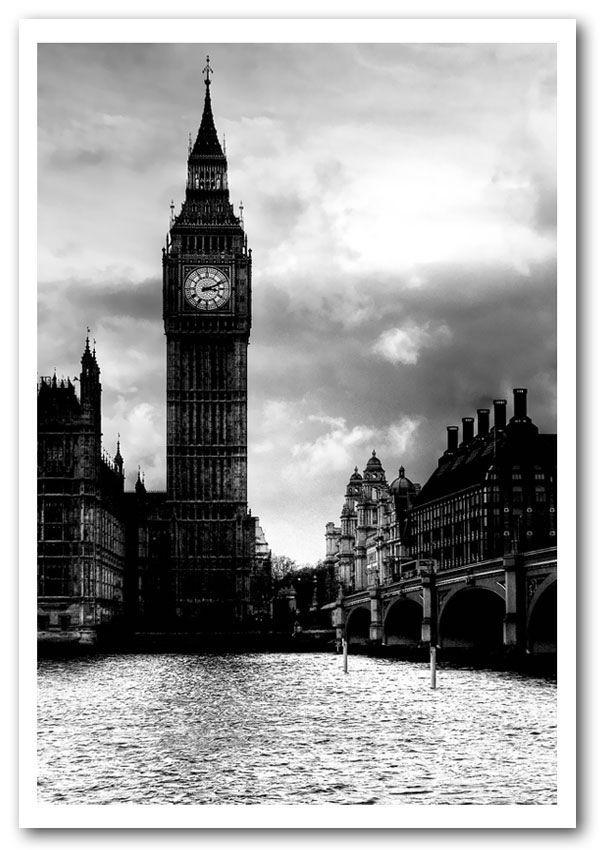 Beautiful Black and White City Prints